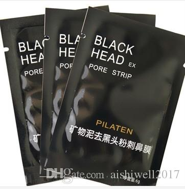 Pilaten Gesichts Black Mask Gesichtspflege Nase Akne Mitesser Entferner Minerals Porenreiniger Masken-Schwarz-Kopf-Streifen maquiagem