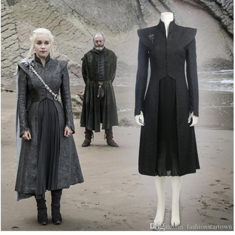 Daenerys Targaryen Costume Season 7 Game Of Thrones Cosplay Costume Hbo Khaleesi Queen Of Meereen Dragon Queen Outfit Team Costumes Team Halloween Costumes ...  sc 1 st  DHgate.com : hbo halloween costumes  - Germanpascual.Com