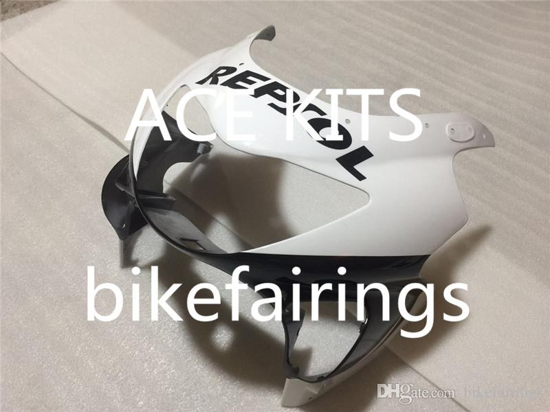 Three free beautiful gift and new high quality ABS fairing plates for HONDA CBR600RR F4 1999-2000 CBR600RR F4 99 00 Black White
