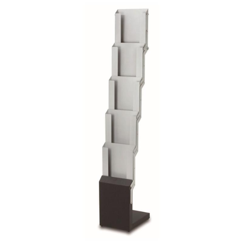 40 New Floor Standing Magazine Holder Leaflet Rack With Folding Enchanting Foldable Magazine Holder