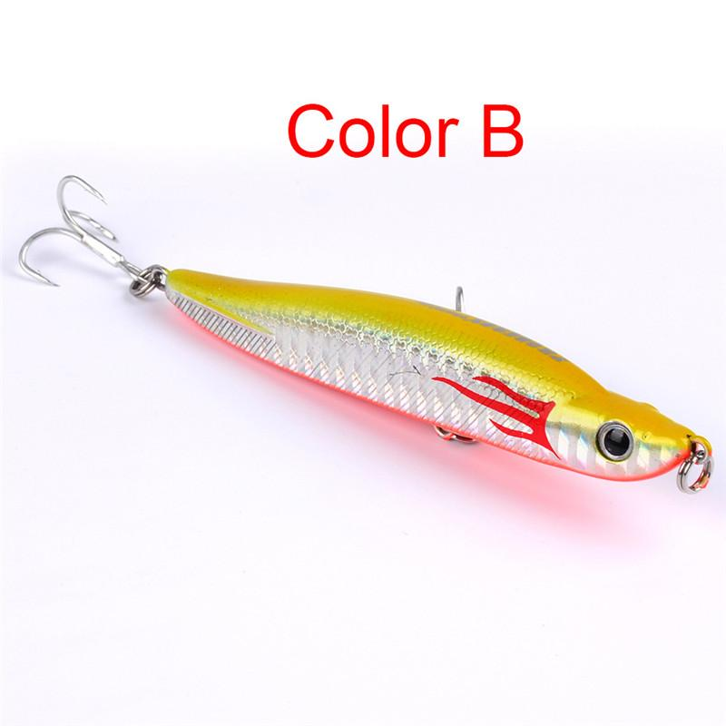 2017 High Quality Pencil Saltwater Crankbaits Fishing Lures 10cm 15g PROBEROS style Wobbler fishing bait fishing tackle