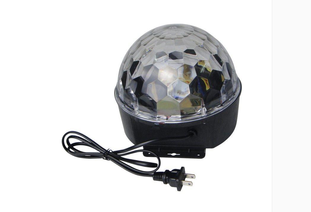 6 - 9 Светодиод с mp3 музыкальный динамик дистанционного управления красивый кристалл волшебный эффект шарика света DMX диско диджея сцена освещение