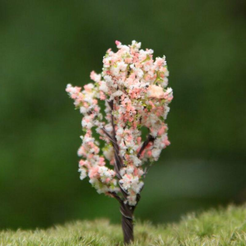 / Artificial Pink Tree/miniatures/pink/cute Plants/fairy Garden Gnome/moss  Terrarium Decor/crafts/bonsai/bottle Garden/p005 Bottle Decor Online With  ...