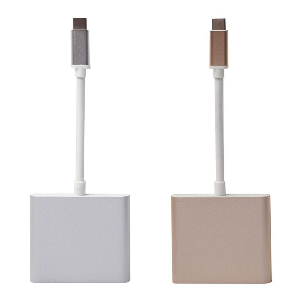 Typ-C 3.1-Stecker auf USB3.0 / HDMI / Typ C-Ladegerätadapter für Macbook FW1S