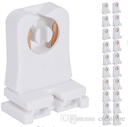 LED 형광 튜브 교체에 대한 비 분로 T8 램프 홀더 소켓 묘비는 프로그래밍 된 S에 대한의 Lampholder 중간 비스무트 핀 소켓 타입을 돌려