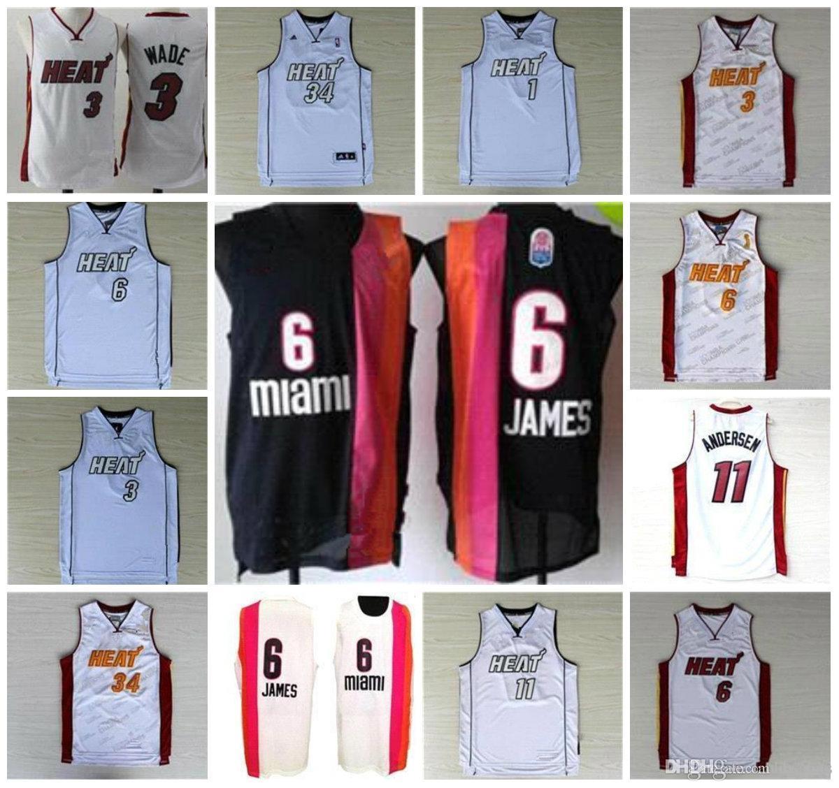 ... 2017 Miami Basketball Men Women Youth Jerseys Shorts Heat a33bb6a44