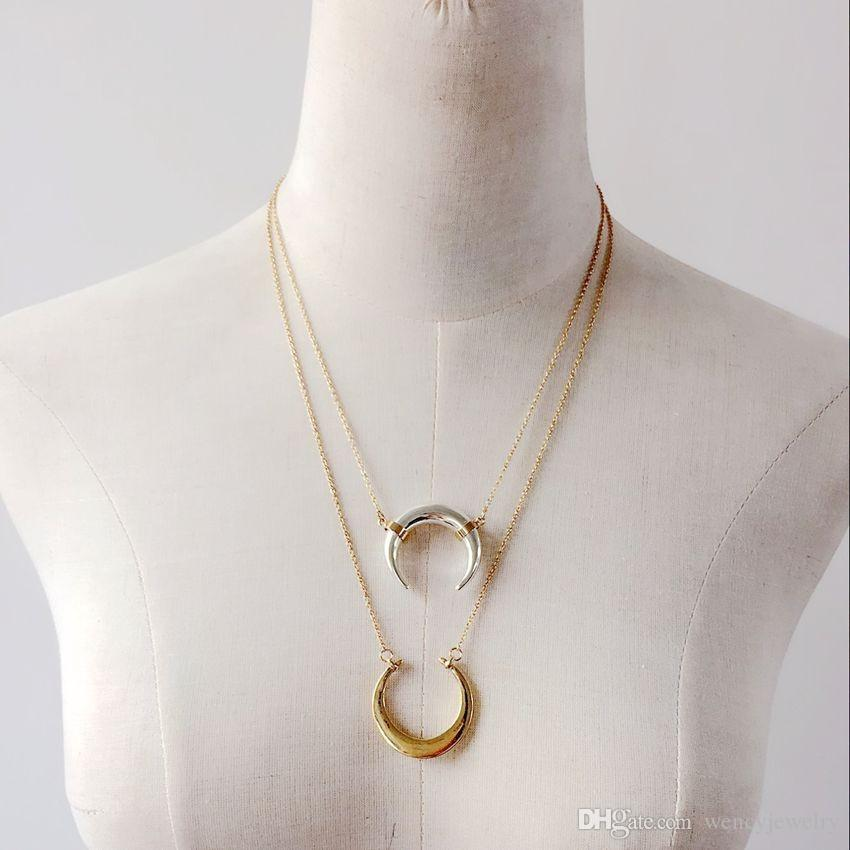 New Arrival Simple Pendant Necklace, Wholesale Fashion Girl Trendy Necklace, Cute Sweet Hot Sale Necklace