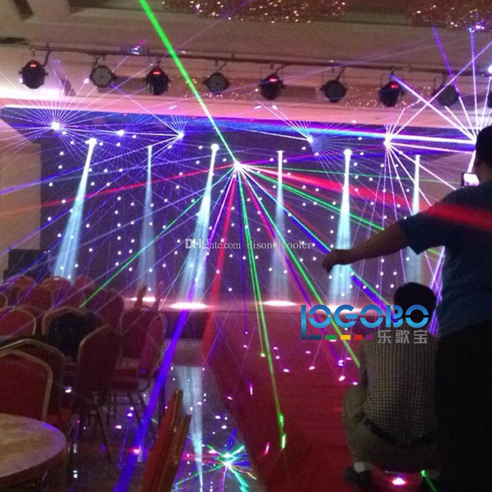 Professional Sharpy Light Beam 5R 200 Moving Head Beam Prism Frost Gobo Effect Studio Stage DJ Effect Lighting Equipment Packages,