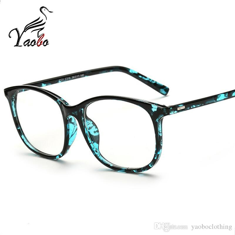 bbf5f431ee Yaobo 2017 Fashion Big Glasses Frame Men Women Retro Vintage Decorative  Frames Without Lenses Square Glass Frame Oculos De Grau Oculos De Grau  Square Glass ...