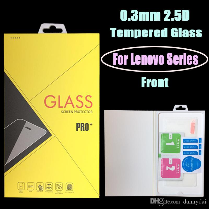 For Lenovo K10/K3/K3-NOTE/K5 PLUS/K5/K5-NOTE/K6-PLUS/P1M/A7/A8/SHOT  Tempered Glass screen protector with retail package