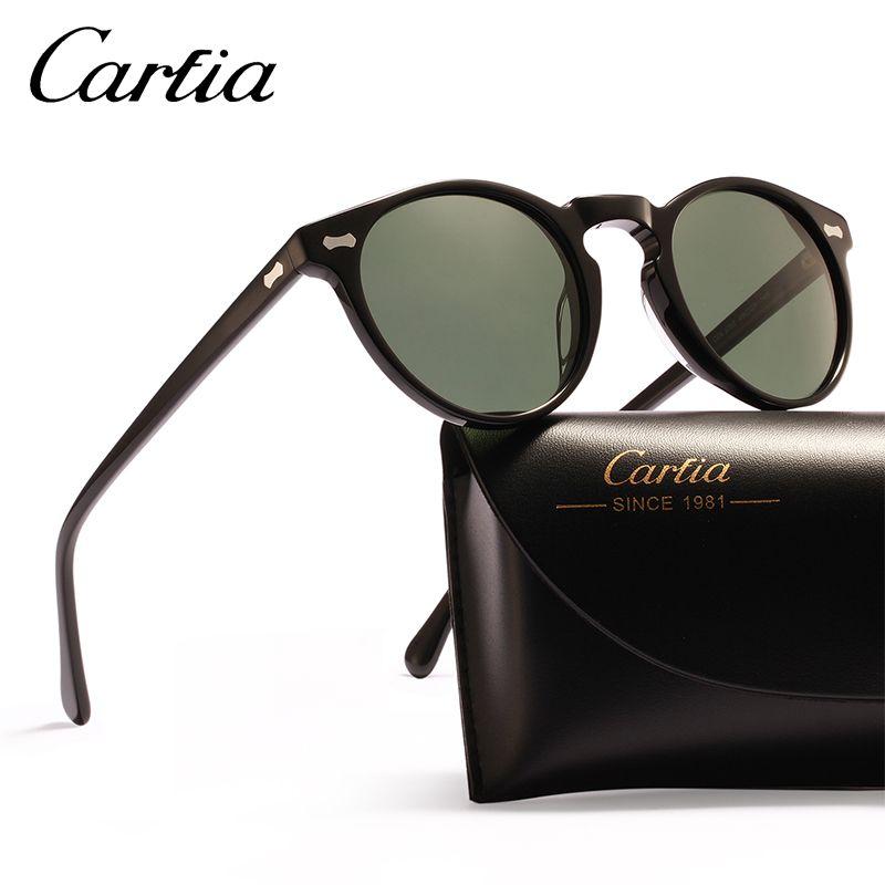 9741f60d7a770 Compre Óculos De Sol Polarizados Mulheres Óculos De Sol Carfia 5288 Óculos  De Sol Designer Oval Para Os Homens Proteção UV Óculos De Resina Acatato 3  Cores ...