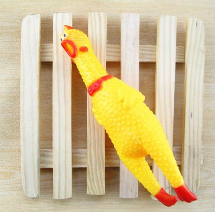 الكلب حيوان أليف لعب يصرخ الدجاج جرو كلب الصوت لعبة مضحكة لعبة الحيوانات الأليفة الصراخ الدجاج يمضغ لعبة أداة الضغط