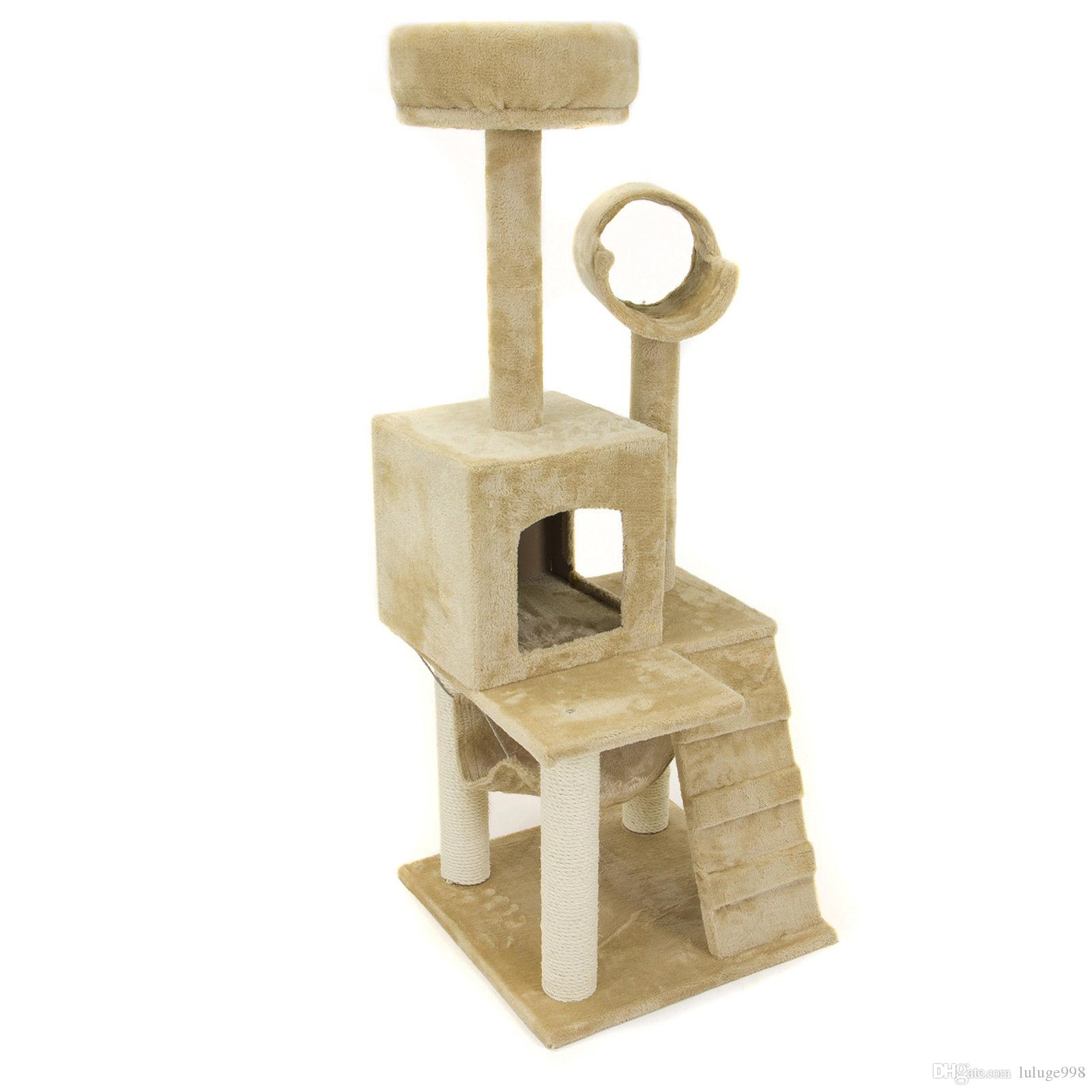2018 deluxe 52 cat tree tower condo scratcher furniture kitten house hammock from luluge998  37 19   dhgate   2018 deluxe 52 cat tree tower condo scratcher furniture kitten      rh   dhgate