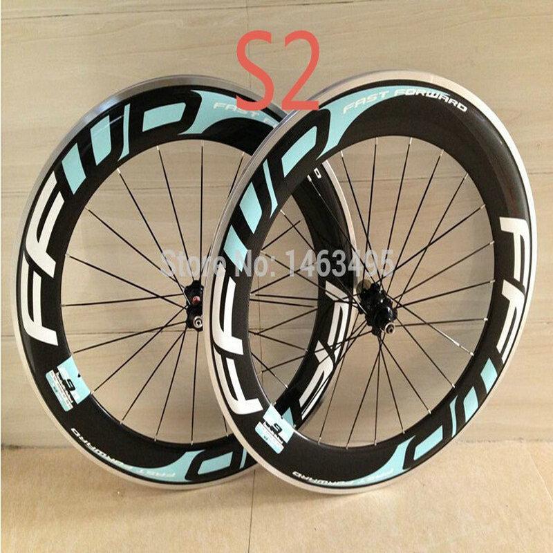 AWST hot sale 88mm alloy surface road bike carbon wheels 3k matt clincher bicycle wheel set basalt surface carbon wheels