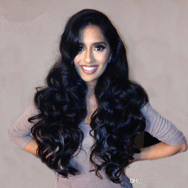 Cheap Hot sale Brazilian Human Long Wavy Hair Full Lace Wig Hot Selling Woman Hair Human Wig