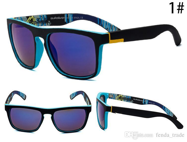 Boa qualidade do vintage verão esportes óculos de sol dos homens designer de moda flat top homens óculos de sol 731 ciclismo quick big quadrado oculos de sol
