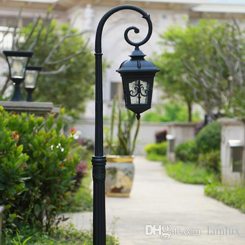 Charming LED Garden Lights Lawn Lamps Retro Street Post Lighting Led Landscape Light  With Bulbs For Villa Hotel Garden Decoration Led Garden Street Lights Led  Garden ...