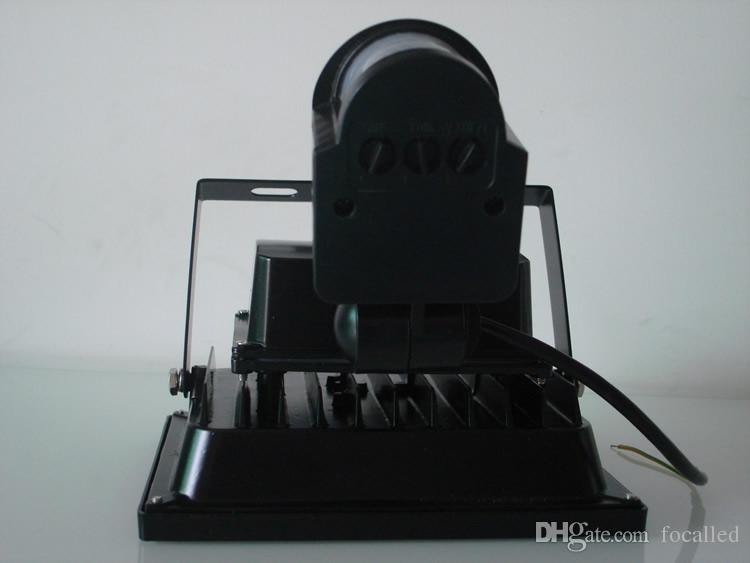10W 20W 30W 50W Capteur de mouvement PIR Capteur Lumière Sécurité AC / DC 12 V LED Éclairage Extérieur Capteur De Flux Lumineux Lumières LED Lampes