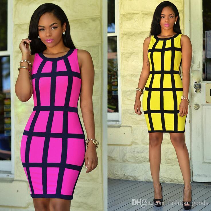 Brand new Printed vest skirt explosion nightclub sexy dress NLX009