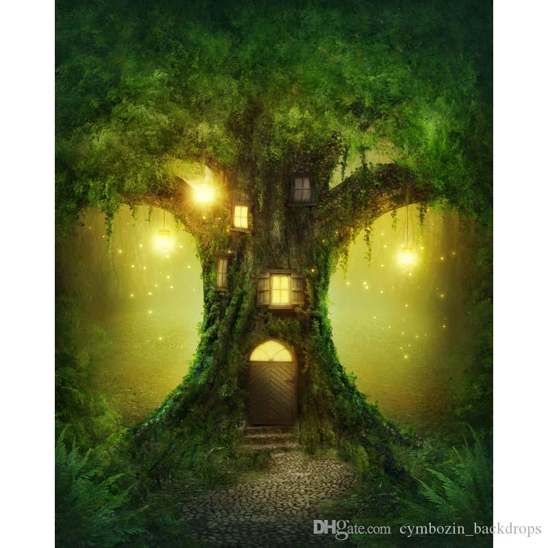 2018 Fantasy Tree House Wonderland Photography Backdrops