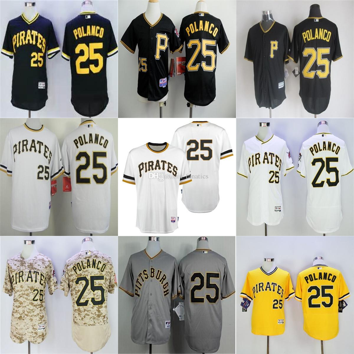 the best attitude ad62a 3bd2d australia mlb jerseys pittsburgh pirates 25 gregory polanco ...
