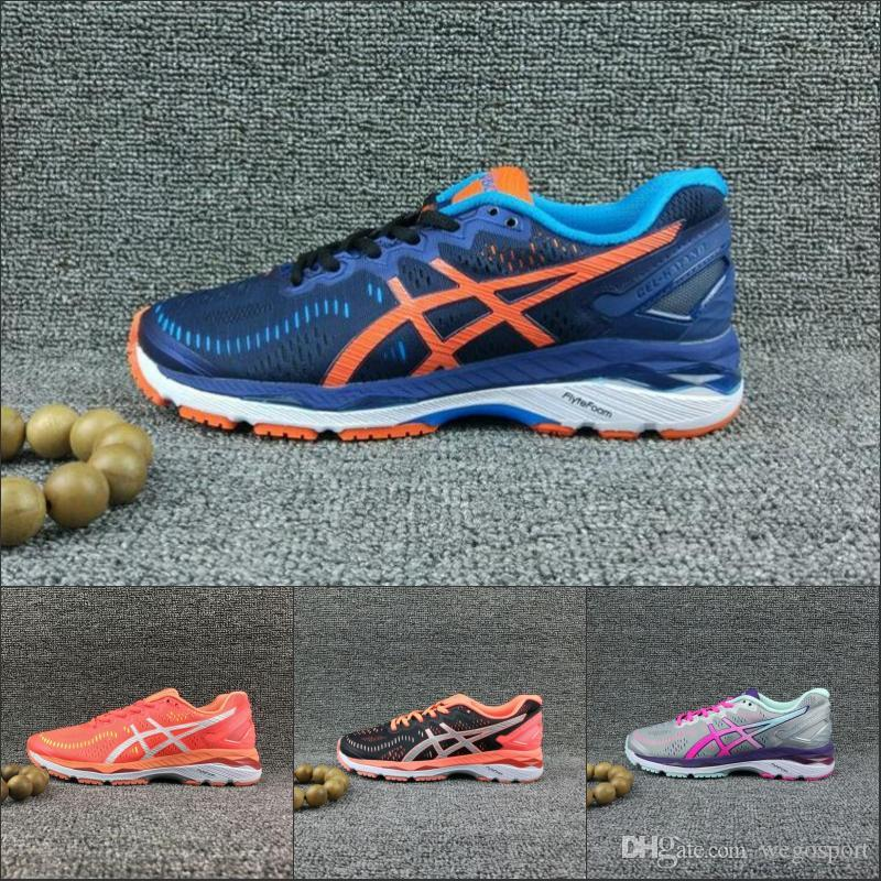 4d143a07c925 2019 2018 Hot Asics Gel Kayano 23 New Running Shoes Women Men T696N T646N  T5809N T697N Original Boots Stable Athletics Discount Sneakers 36 45 From  ...