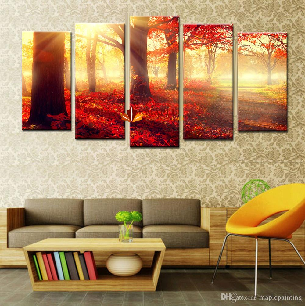 2019 hd canvas print large wall picture home decor modern painting