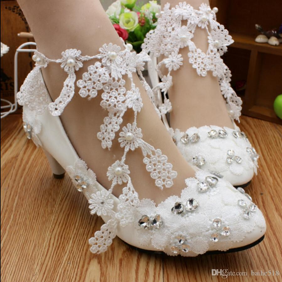 Bridal dress shoes for bridesmaid dresses with a new white bridal dress shoes for bridesmaid dresses with a new white handmade lace peaches wedding shoes dyeable wedding shoes for children from baihe518 ombrellifo Gallery