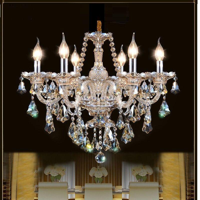 Luxury Modern Crystal Chandelier for living room bedroom lamp modern chandelier Crystal lighting Top K9 Lamp
