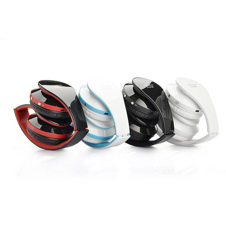 Alta qualidade dobrável Sem Fio DJ estéreo de Áudio Bluetooth Stereo Headset Handsfree Fones De Ouvido Fones De Ouvido Fone de Ouvido com caixa de Varejo
