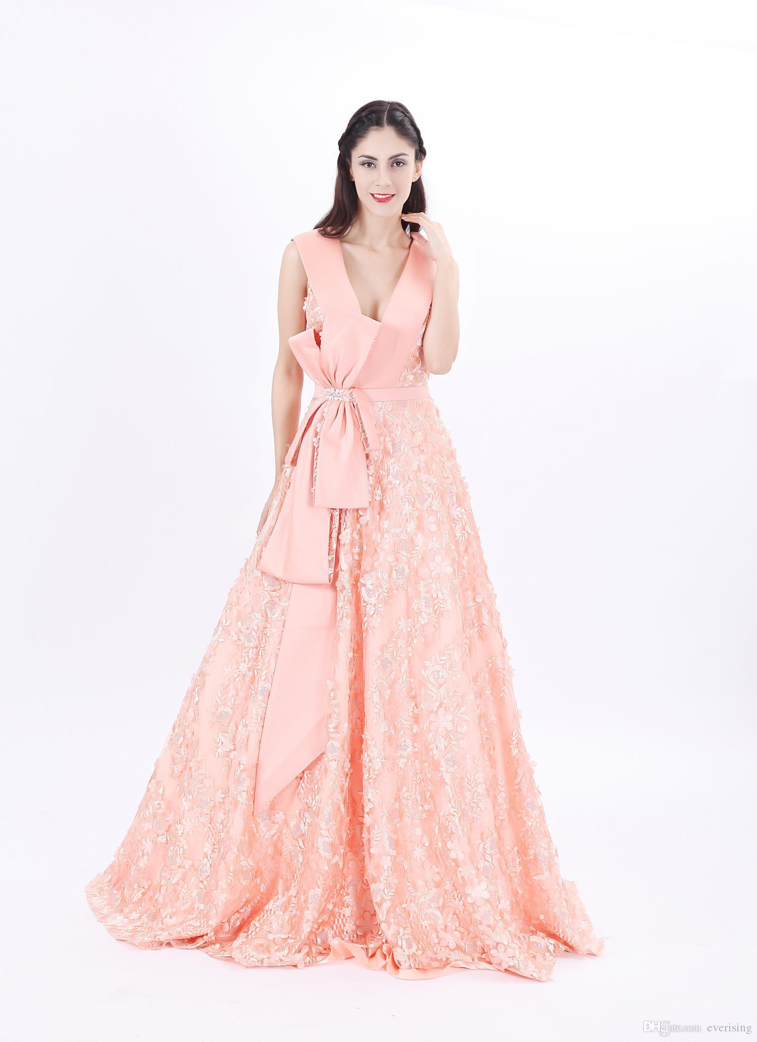 d96e3117db5 Acheter Modabelle Une Ligne Robes De Soirée Pour Femmes Personnalisation  Avancée 3D Imprimées Fleurs Robes De