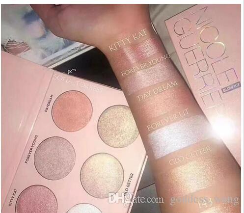 2017 new makeup nicole powder highlighters powder palette