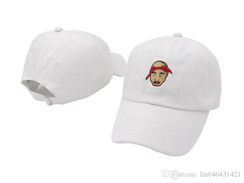 1ebbedd1a4eb0 Compre 2Pac Tupac Shakur Gorra De Béisbol Strapback Retro Easy E Hat Todos  Los Ojos En Mí Dad Sombreros De Hip Hop Gorras 6 Panel Xo Bone Swag  Casquette A ...