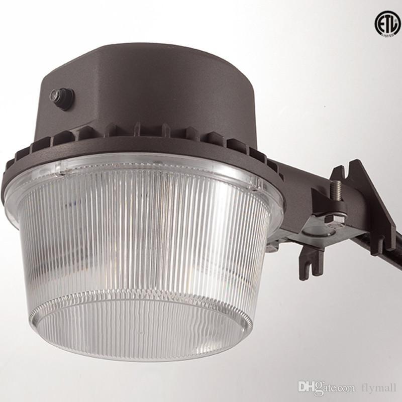 dlc etl approved 35w 3800lm led street light outdoor barn light led area lighting dusk to