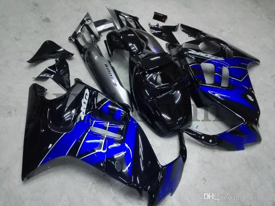 Gifts blue ABS Fairing For honda CBR600F3 1995-1996 F3 95 96 Aftermarket Motorcycle