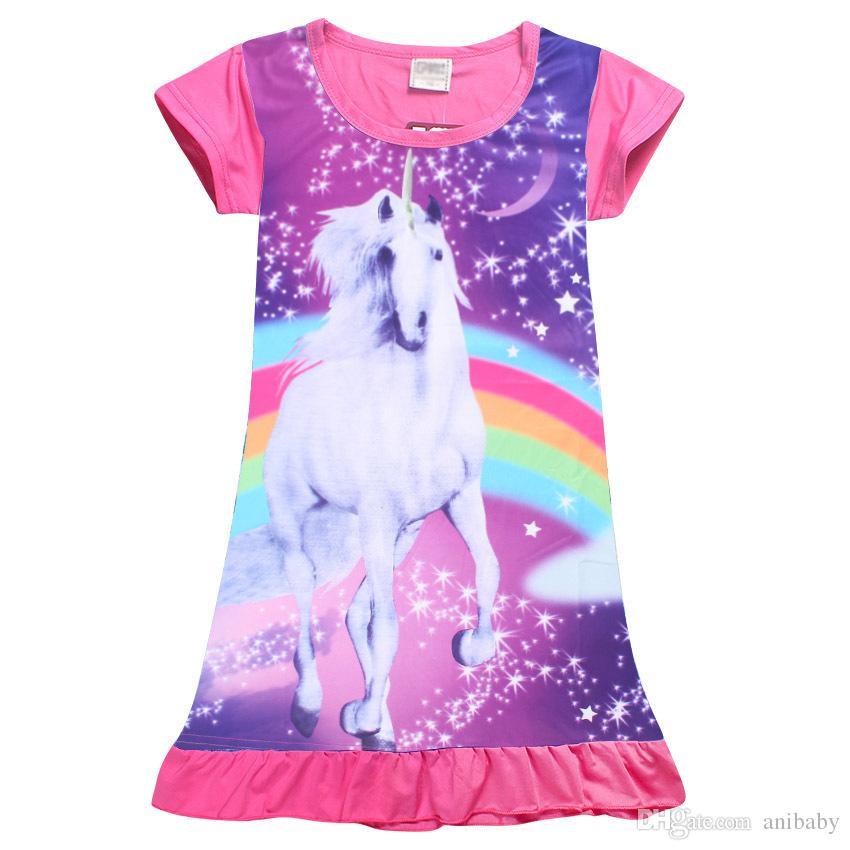 Пижамы платья для девочек