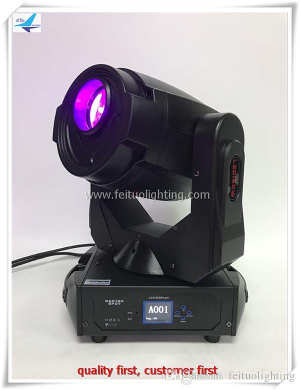 2Xlot 180w tête mobile spot lumière dj led lumières dmx effet gobo led tête mobile