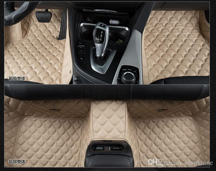 Leather For Custom Fit Car Floor Mats For Mercedes Benz A