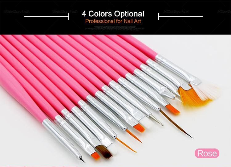 Nails Nails Blinkins Sets Of Nail Brushes Nail Art Tool Liner Paint ...