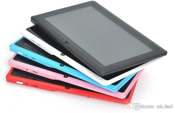 Q88 (entertainment, learning, dual use) quad-core tablet 7 inch 8 g IPS screen tablets tablets wholesale and custom