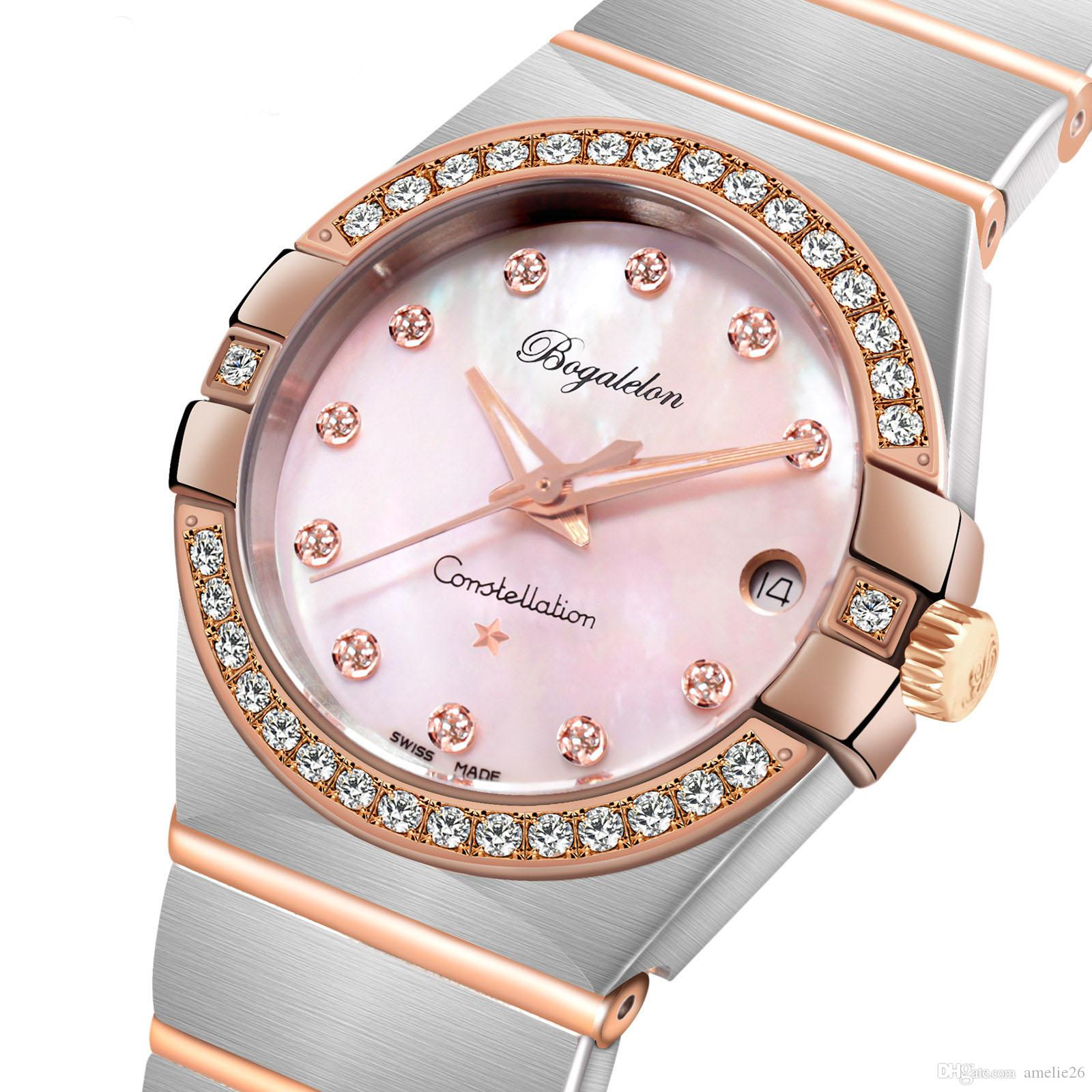 437a6ec1d36d Women Gold Watch Luxury Brand Watch Female Reloj De Las Mujeres ...