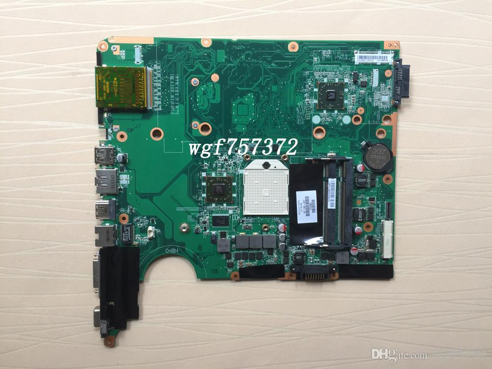Para HP Pavilion DV6 DV6-2000 1000 placa madre para portátil 571186-001 DA0UT1MB6E1 DDR2 AMD Notebook Systemboard