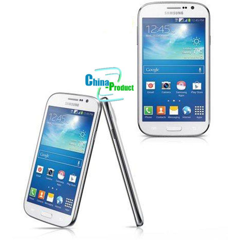 Refurbished Samsung Galaxy Grand Duos i9082 Front&Back Camera 5.0 inch Smartphone 1GB RAM 8GB ROM Dual SIM WCDMA 3G Unlocked Cellphone