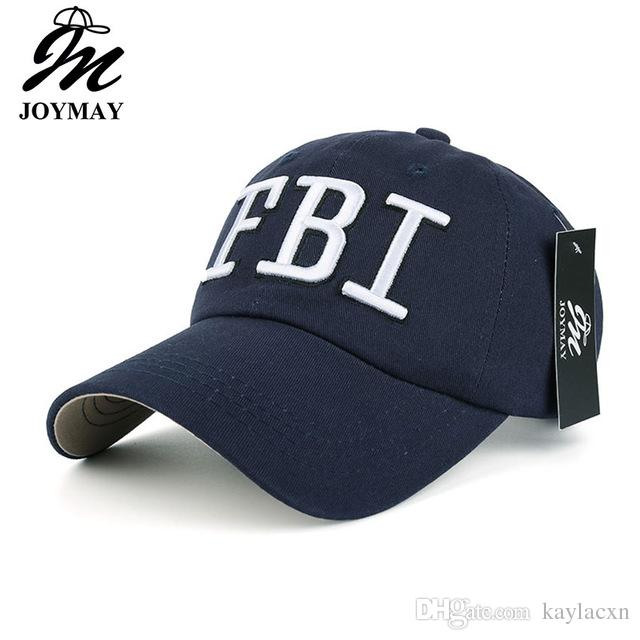 514800efa38 Men Baseball Caps Casquette New Casual FBI Embroidery Outer Sport Hats For  Women JOYMAY Brand High Quality Cap B049 Hot Sale Hat Store Ny Cap From  Kaylacxn