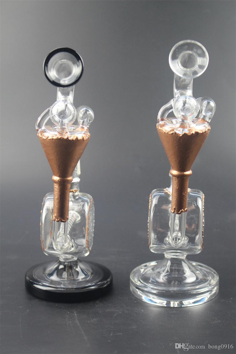 New technology of drum water voice sound recycling glass pipes tobacco prices low