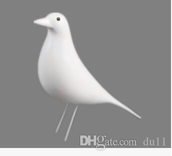 Home Furnishing gifts Eames minimalist fashion soft-loading bird decoration creative arts and crafts black and white
