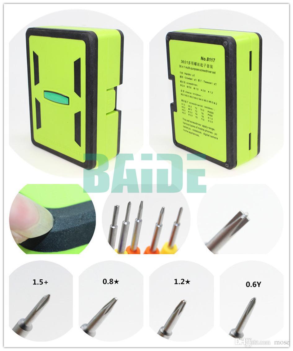 36 em 1 Chave De Fenda Combinação Conjunto de Ferramentas de Alta Qualidade Ferramentas de Abertura para o Telefone PC Eletrônica 50 conjunto