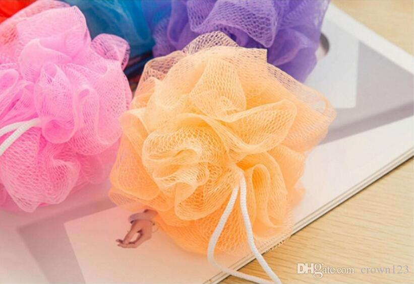 Bath Pouf Shower Sponge Exfoliating Cleanse Soothe Skin Loofah Luffa Awesome Mini Loofah Poufs