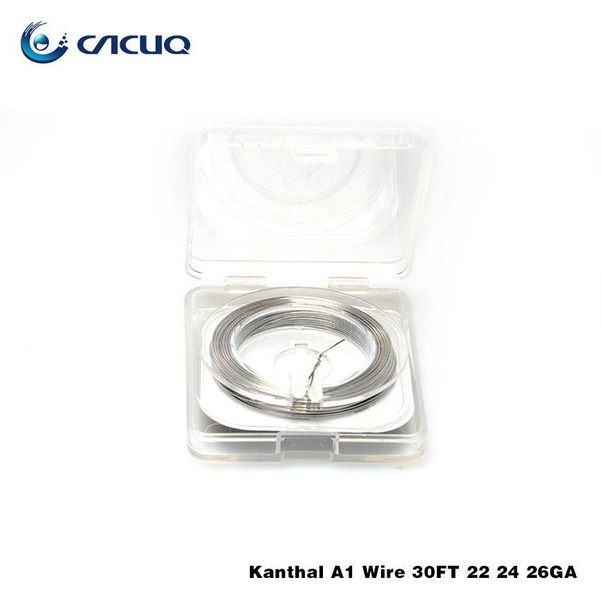 Vpdam A1 Wire 30 Feet 22/24/26 Ga Heating Wire For Diy Rda Rba ...