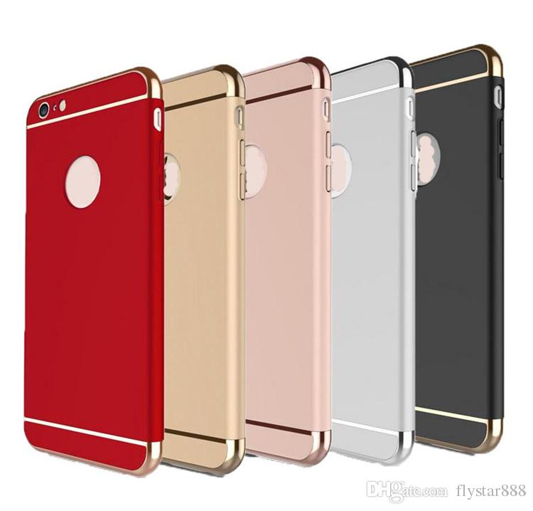 For Iphone 7 Plus Women Man Ultra-thin Phone Case Shockproof Armor ... a3f85d0d26